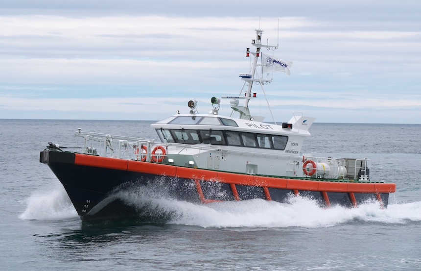 VESSEL REVIEW | Scapa Pathfinder – 22-metre pilot vessel for Orkney Islands Council
