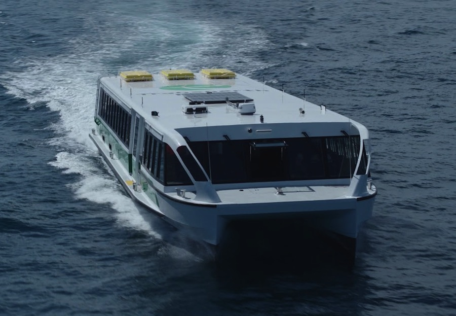 VESSEL REVIEW | Tricia – New low-wash catamaran ferry joins Perth's busy river fleet