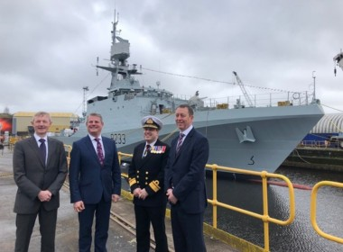 Israel christens first Sa'ar 6 corvette - Baird Maritime