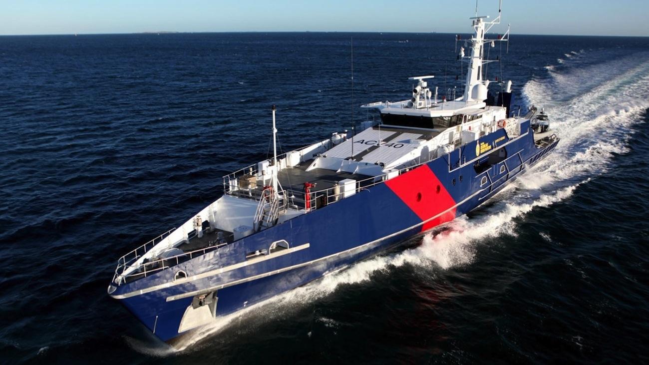 Austal's Cape class