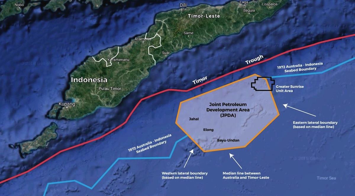 Australia/Timor-Leste maritime border deal