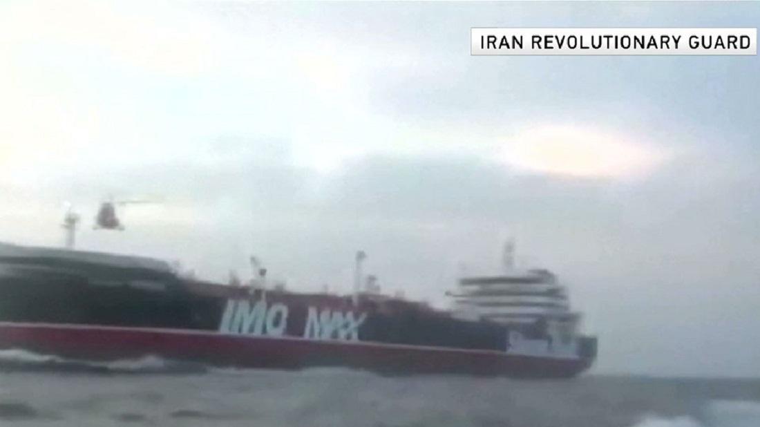 Photo: IRGC video