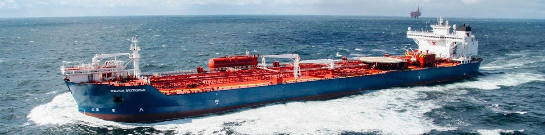 Navion Brittania, a Teekay Offshore shuttle tanker
