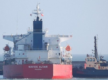 MarineTraffic.com/Keith Foley