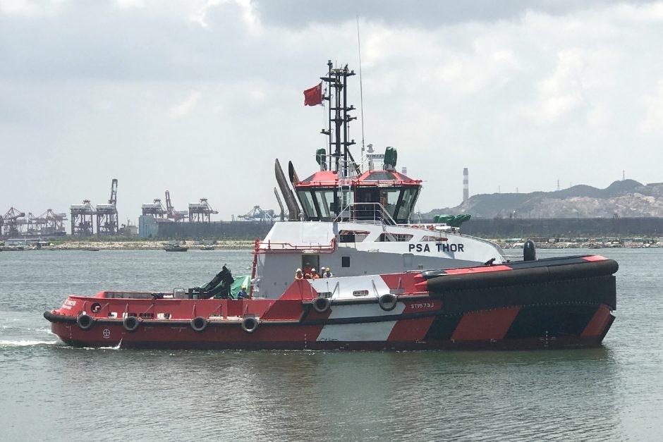 One of PSA Marine's new tugs, PSA Thor.