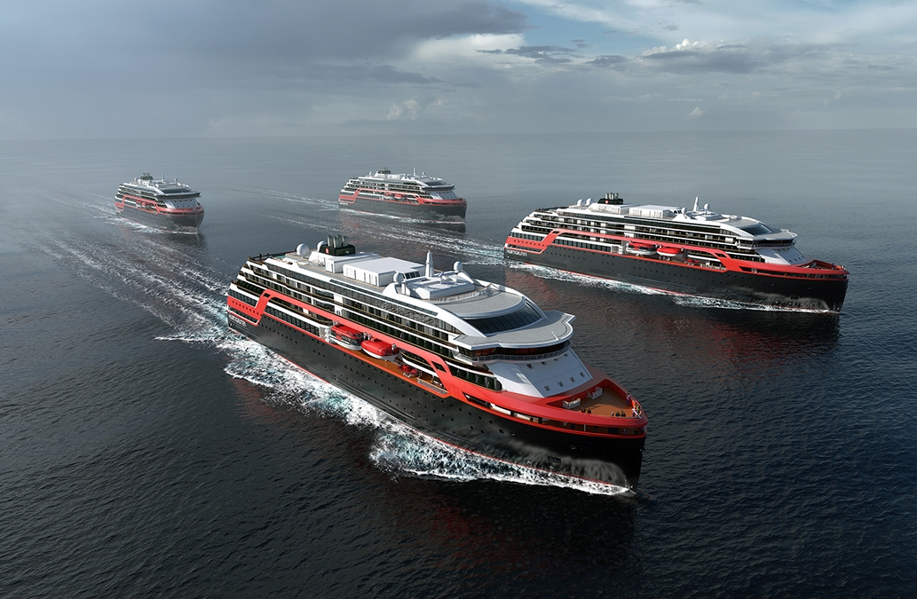 Rolls-Royce's involvement in design, such as the new Hurtigruten expedition vessels, will continue.