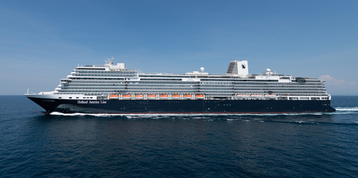Holland America Line's Nieuw Statendam has successfully completed sea trials.