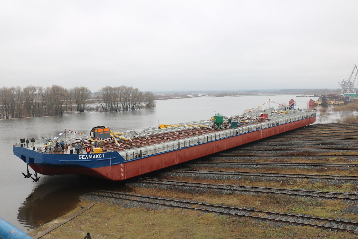 The first barge of Project ROB20