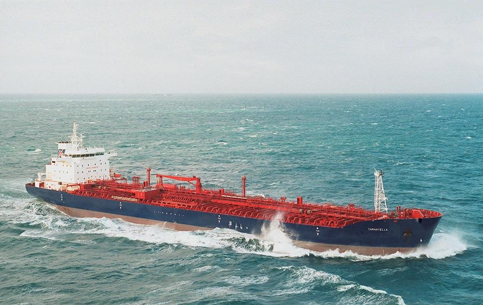 Laurin Shipping's Tarantella.