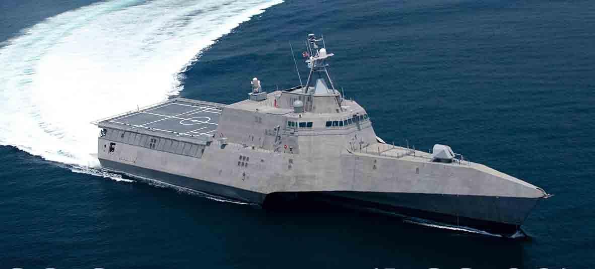 The future USS Savannah.