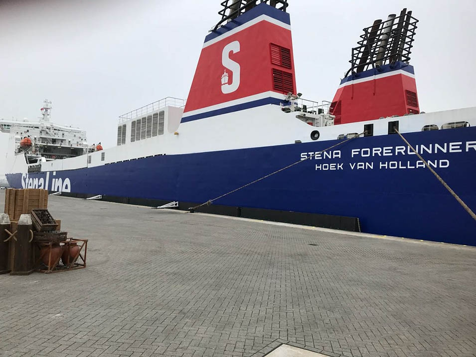 Stena Line's Europoort Terminal has been officially reopened.
