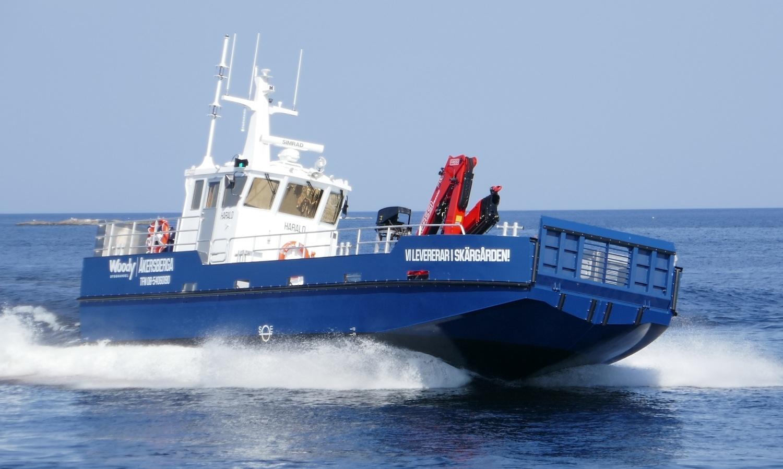 VESSEL REVIEW | Harald – Flexible landing craft for Stockholm archipelago