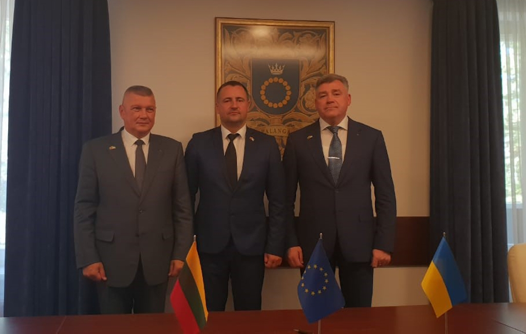 State Border Guard Service of Ukraine's meeting with the Lithuanian border guard