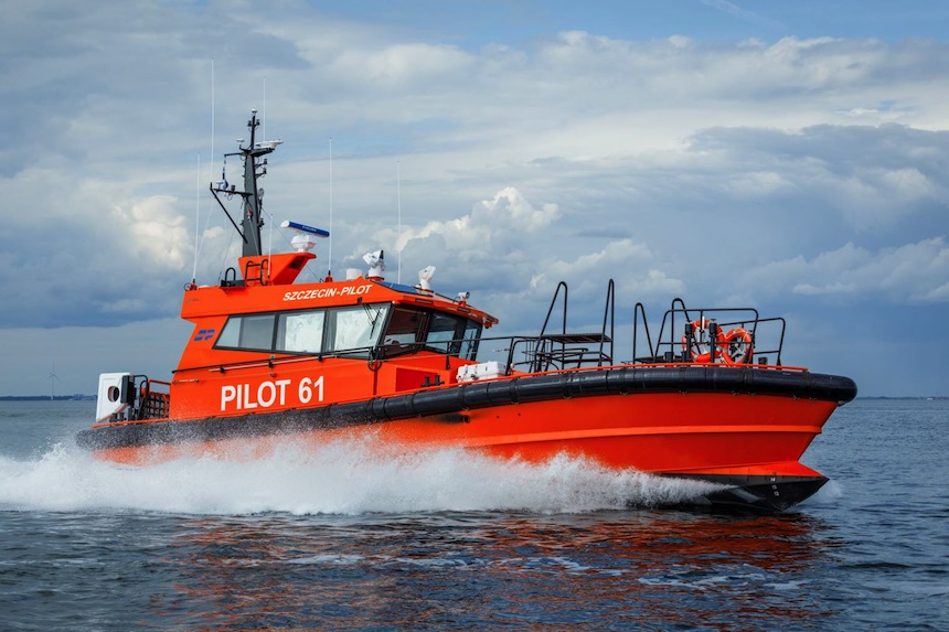 VESSEL REVIEW | Pilot 61 – Ice-capable pilot boat for Poland's Swinoujscie and Szczecin harbours