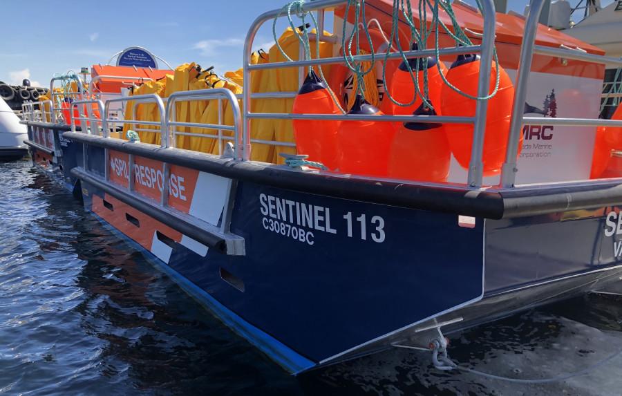 VESSEL REVIEW | Sentinel 106 – Custom-built boom skiffs take on coastal cleanup duties in British Columbia