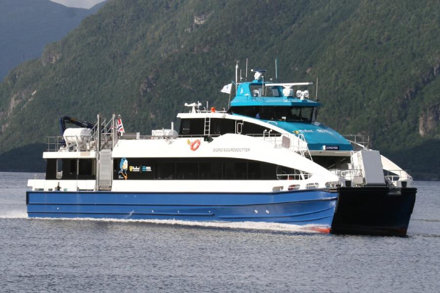 VESSEL REVIEW | Sigrid Sigurdsdotter – Catamaran newbuilds for Torghatten's Nordland commuter service
